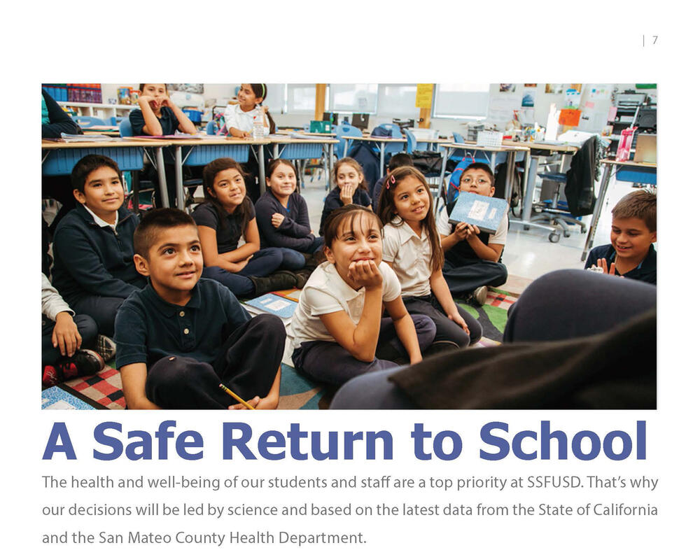 A safe return to school